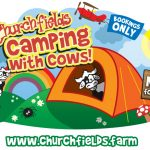Camping with Cows logo